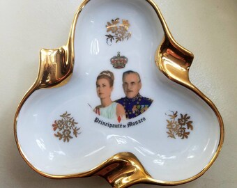 Vintage Princess Grace of Monaco Ashtray