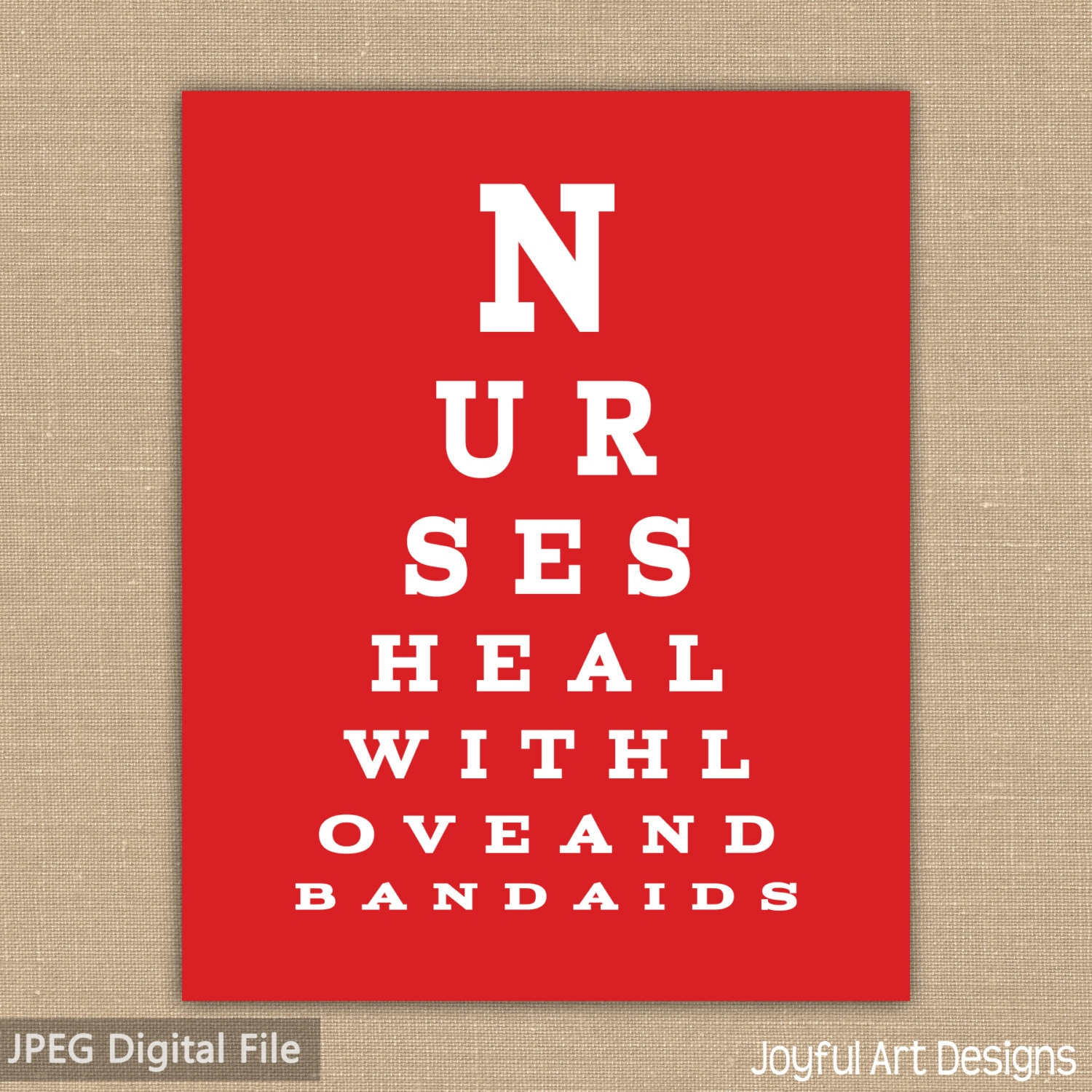 Nurse eye chart printable nurses heal with love and description nurse eye chart geenschuldenfo Image collections
