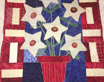 Patriotic Quilted Wallhanging