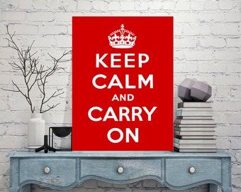Keep Calm Signs, Keep Calm, carry on Signs Vintage style, Sign, Keep Calm Decor, Art Prints, Metal Sign Tin Sign, Keep Calm art