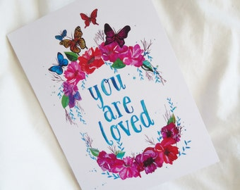 CARD - You are Loved