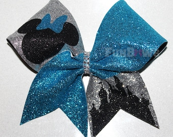 Awesome  Special Event Minnie Castle Cheer Bow by FunBows !