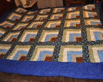 Cabin Fever Queen sized Quilt