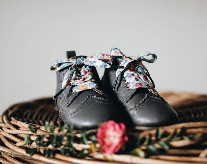 LIBERTY PRINT SHOELACES in adult and children's sizes - Betsy P