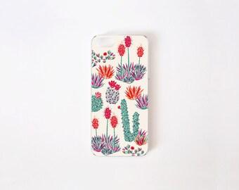 iPhone SE Case - Cactus iPhone 5s Case - iPhone 5 Case - Floral iPhone Case - Litoral Central - Flor de Chile Special Collection