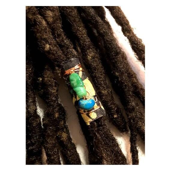 Fabric Bead Loc Jewelry Dreadlock #7