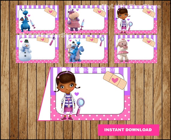 Current image pertaining to doc mcstuffins printable labels