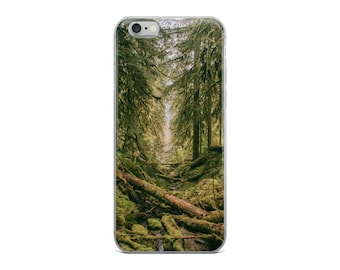 Beautiful Green Forest / Trees iPhone Case - iPhone 6, 6s, 6 Plus, 6 s Plus, 7, 7 Plus, 8, 8 Plus, X