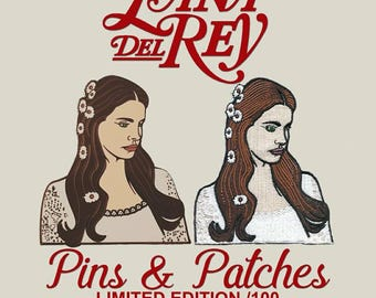 Lana Del Rey Pin / Patch