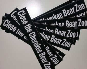 Help Bears Bumper Sticker