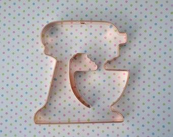 Kitchen Stand Mixer cookie cutter by ecrandal, Kitchenaid copper cookie cutter, 2 piece