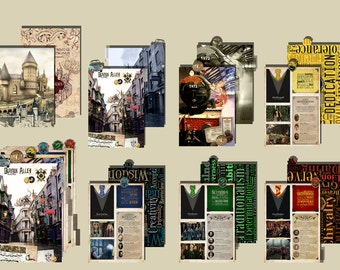 Harry POTTER _  Printable dividers A5 size