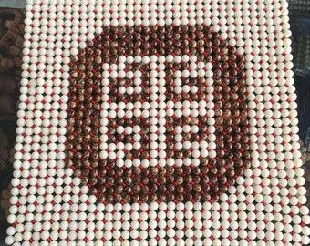 handmade beads rug  chair mat