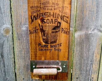 Vintage Farmhouse Laundry Room decor FREE SHIPPING | Rustic Wood Sign | Farmhouse Bathroom | Wood Metal Sign | Junk Revival |Antique Graphic