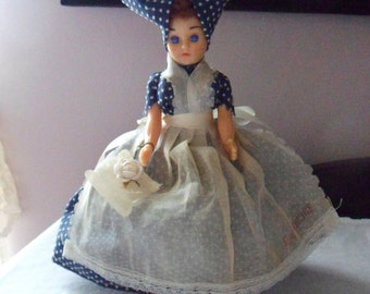 New Orleans Souvenir Doll, Southern Belle Doll, Plantation Doll with Purse
