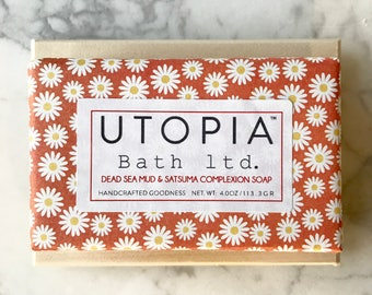 Utopia Bath Dead Sea Mud Soap