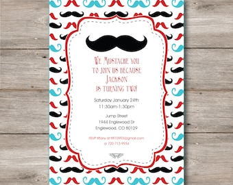 Mustache 1st birthday party invitation baby shower its mustache invitation with editable text mustache party invitation with changeable text mustache birthday invitation filmwisefo