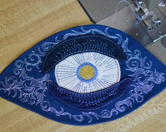 watchful eye applique