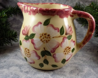 1995 Ohio Alpine Pottery Roseville Serving Pitcher