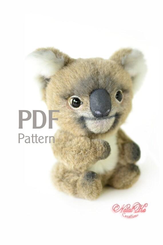 Schnittmuster Koala PDF 155 cm Digitaler Schnittmuster