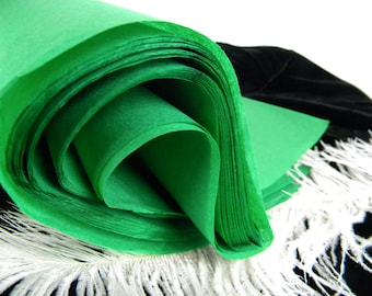 "Tissue Paper Sheets - Kelly Holiday Green 24 Tissue Sheets  20"" X 30"" Gift Wrap Idea - Premium Packaging Tissue"