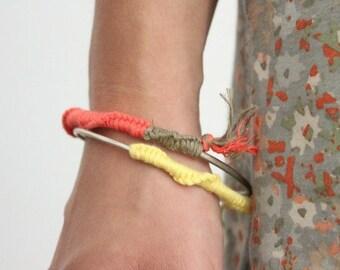 Sterling Silver woven bracelets