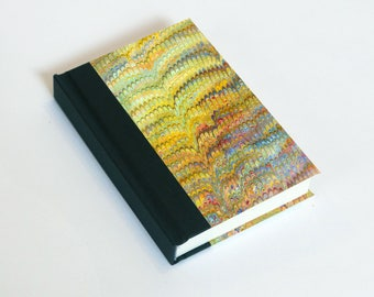 """Sketchbook 4x6"""" with motifs of marbled papers - 13"""