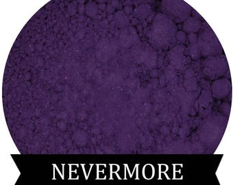 NEVERMORE Matte Purple Eyeshadow Edgar Allan Poe Fall Halloween shade