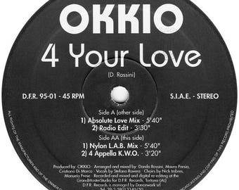 Okkio----4 Your Love---(Made in Italy)