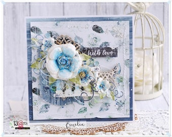 Unique Handmade Any Occasion Card in a Box
