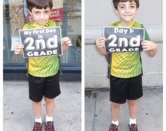 First Day of School Signs (2 Versions included!)