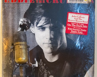 Eddie and the Cruisers Vinyl Record Album LP 1980s Movie Drama Rock and Roll Mystery Fun John Cafferty & The Beaver Brown Band (Scotti 1983)