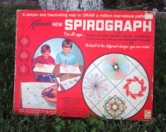 Kenners SPIROGRAPH 1967 Vintage Art Game
