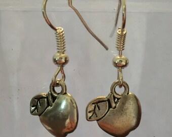 Teacher Gift/Apple Earrings