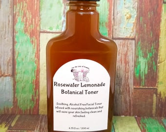 Rosewater Lemonade Face Toner