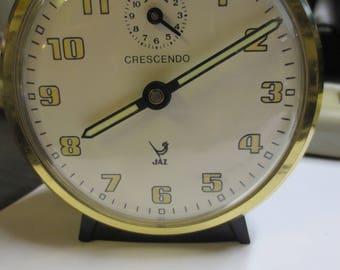 Old French JAZ alarm cloc