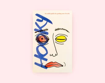 Hooky  - Risograph Printed Zine & Poster Set