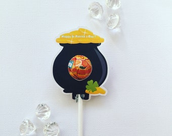 Pot of gold MINI lollipop holders