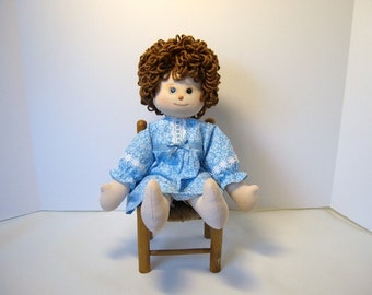 Doll, soft sculpture doll, cloth hug doll, girl doll