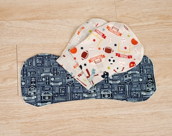 3 Burp Cloths, Baby Shower Gift, Baby Boy, Baby Girl, Baby and Burping, Burp Cloth, Baby Shower Gift, Gender Neutral Baby, Unique Baby Gift