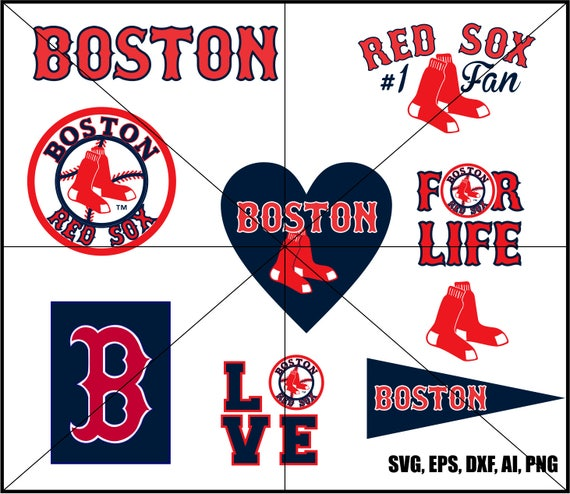 boston red sox clip art and logos 1 fan love baseball in rh etsy com Boston Red Sox Logo Clip Art boston red sox logo clip art
