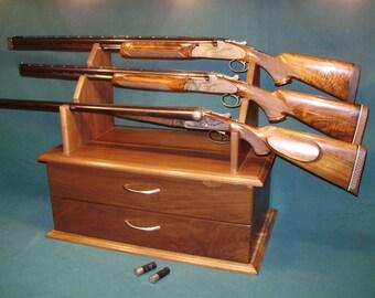 """S C P Gun Cabinet Display """"Bragging Bench """""""