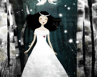 Purity - open edition print - Whimsical Art
