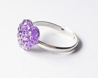 Lavender Fields Ring