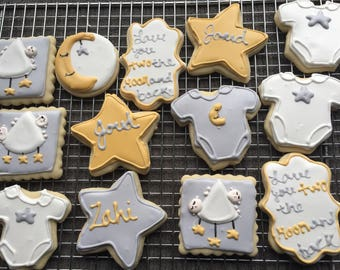 To the Moon and Back Cookies (2dozen)