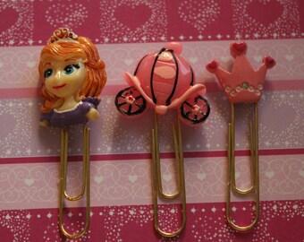 Disney Princess Planner Clips, Filofax, Kikki-K, ECLP