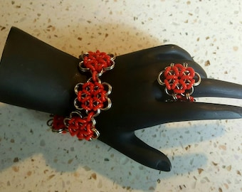 Stretchable Chainmaille Bracelet/ Ring