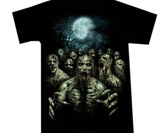 T-shirt Zombie Night