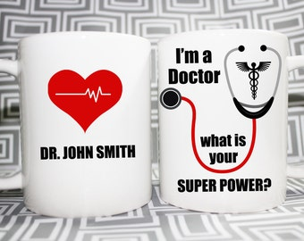 Doctor Super Power Mug - Made to Order with Free Gift Box