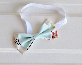 Toddler headband - bow headband - stretchy elastic headband